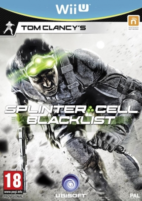 Splinter Cell Blacklist Wii U Cover