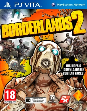 Borderlands 2 PS Vita Cover