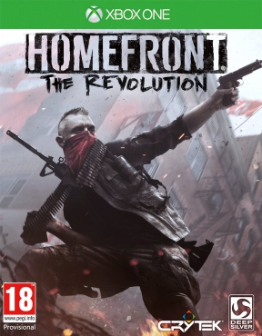 Homefront: The Revolution Xbox One Cover