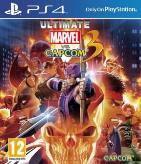 Ultimate Marvel vs Capcom 3 PS4 Cover