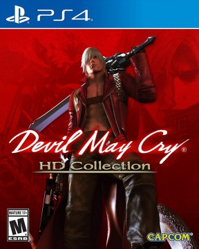 Devil May Cry HD Collection PS4 Cover
