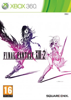 Final Fantasy XIII-2 Xbox 360 Cover