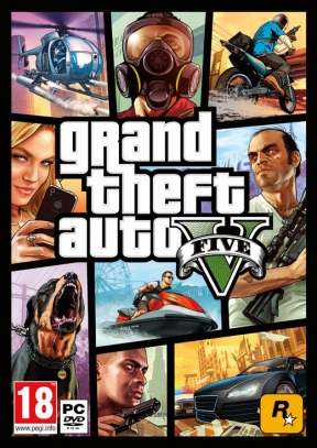 Grand Theft Auto V PC Cover