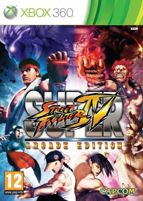 Super Street Fighter IV: Arcade Edition Xbox 360 Cover