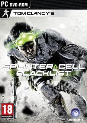 Splinter Cell Blacklist PC Cover