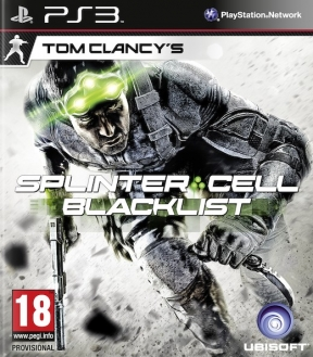 Splinter Cell Blacklist PS3 Cover