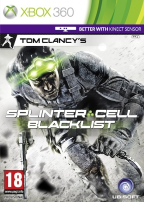 Splinter Cell Blacklist Xbox 360 Cover