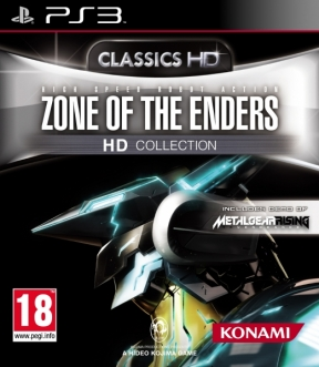 Zone of the Enders HD Collection PS3 Cover