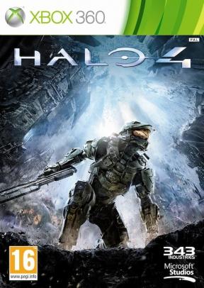 Halo 4 Xbox 360 Cover