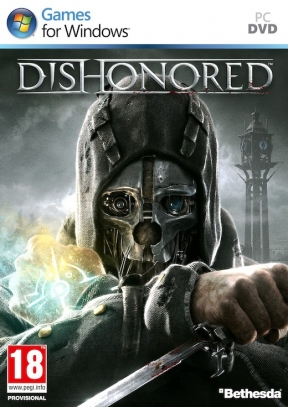 Dishonored PC Cover