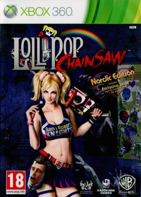 Lollipop Chainsaw Xbox 360 Cover