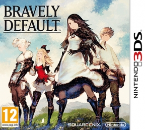 Bravely Default 3DS Cover