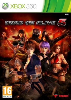 Dead or Alive 5 Xbox 360 Cover