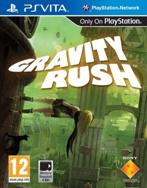 Gravity Rush PS Vita Cover