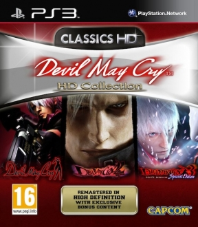 Devil May Cry HD Collection PS3 Cover