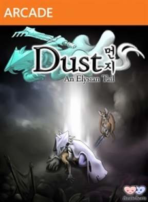 Dust: An Elysian Tail Xbox 360 Cover