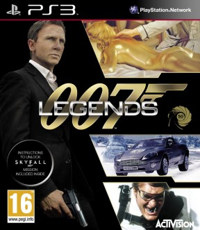 007: Legends PS3 Cover