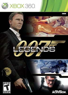 007: Legends Xbox 360 Cover