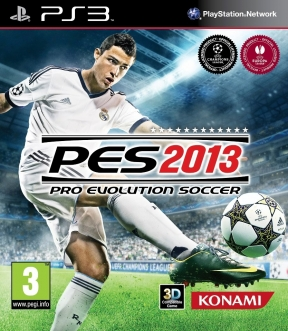 PES 2013 PS3 Cover