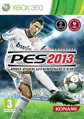 PES 2013 Xbox 360 Cover