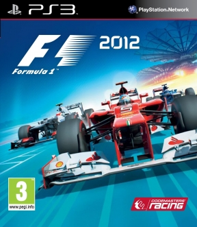 F1 2012 PS3 Cover