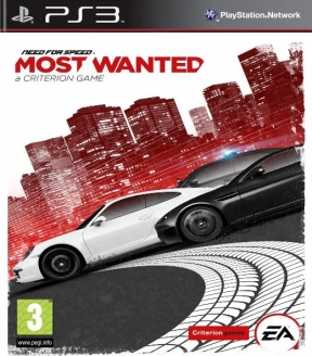 Need For Speed: Most Wanted PS3 Cover