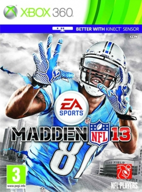 Madden NFL 13 Xbox 360 Cover