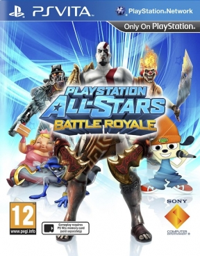 PlayStation All-Stars Battle Royale PS Vita Cover