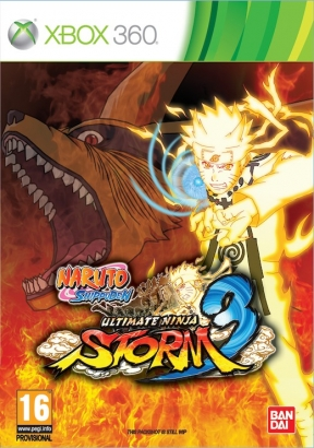 Naruto Shippuden: Ultimate Ninja Storm 3 Xbox 360 Cover