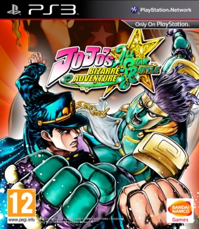 JoJo's Bizarre Adventure: All Star Battle PS3 Cover