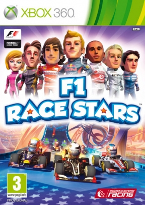 F1 Race Stars Xbox 360 Cover