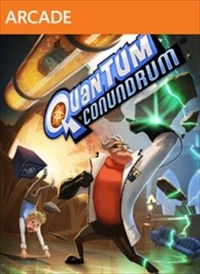 Quantum Conundrum Xbox 360 Cover