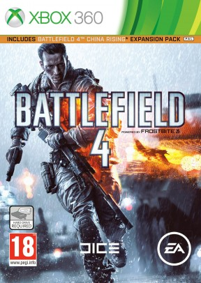 Battlefield 4 Xbox 360 Cover