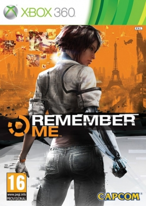 Remember Me Xbox 360 Cover