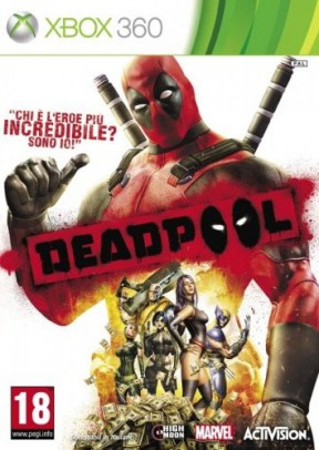 Deadpool Xbox 360 Cover