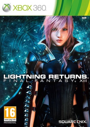 Lightning Returns: Final Fantasy XIII Xbox 360 Cover