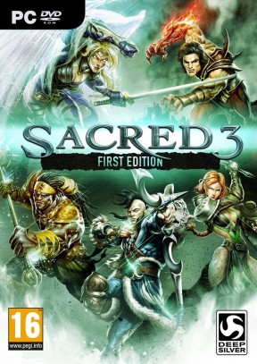 Sacred 3 PC Cover
