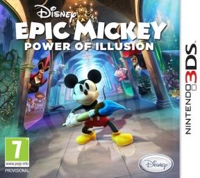 Epic Mickey: Il Potere della Magia 3DS Cover