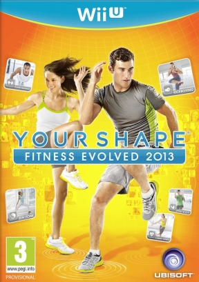 Your Shape: Fitness Evolved 2013 Wii U Cover