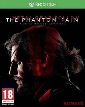 Metal Gear Solid V: The Phantom Pain Xbox One Cover