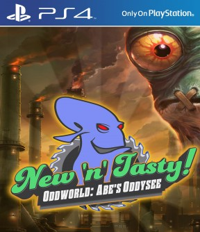 Oddworld: Abe's Oddysee New N' Tasty! PS4 Cover