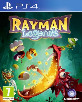 Rayman Legends PS4 Cover