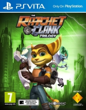 Ratchet & Clank Trilogy PS Vita Cover