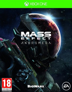 Mass Effect: Andromeda Xbox One Cover