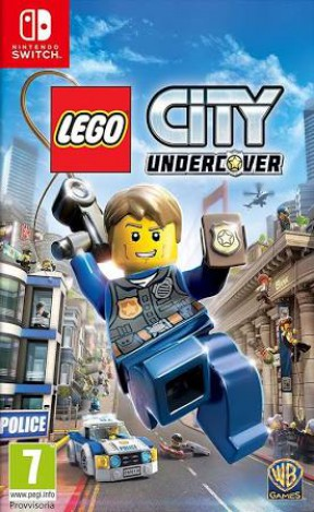 LEGO City Undercover Switch Cover