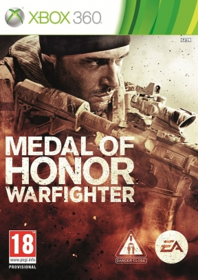 Medal of Honor: Warfighter Xbox 360 Cover