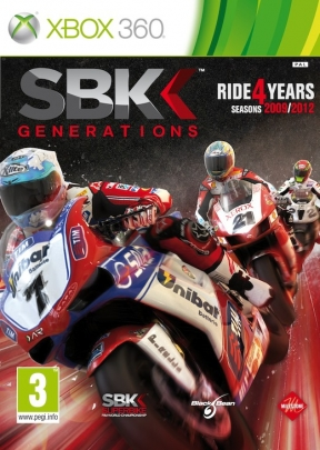 SBK Generations Xbox 360 Cover