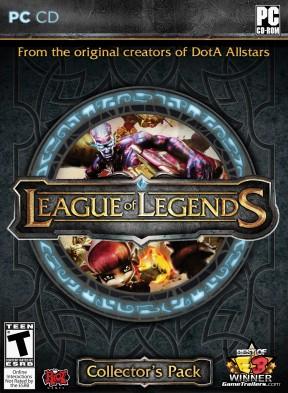 League of Legends PC Cover