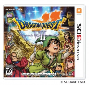 Dragon Quest VII: Frammenti di un mondo Dimenticato 3DS Cover