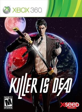Killer is Dead Xbox 360 Cover